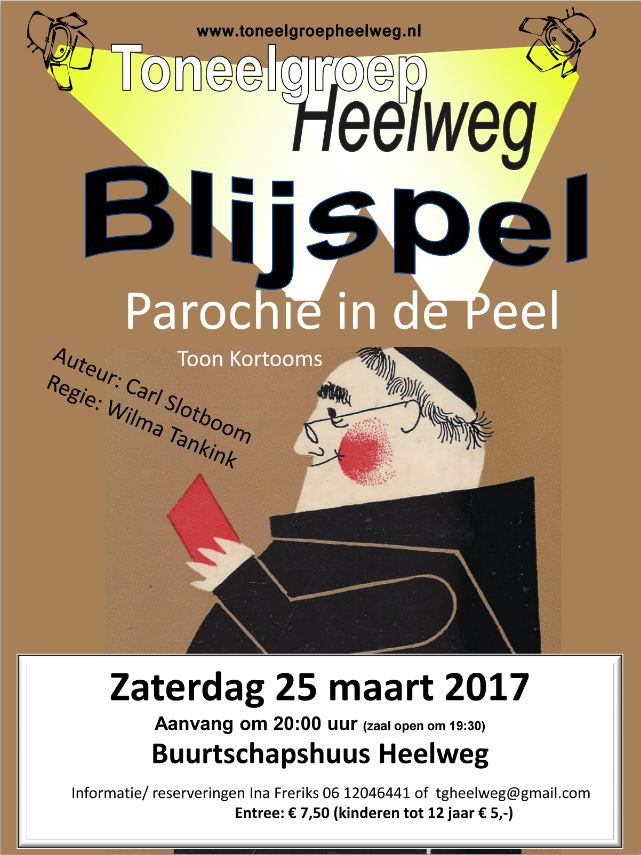 Flyer Parochie in de peel
